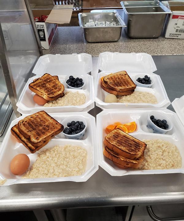 Breakfast at The Friendly Kitchen